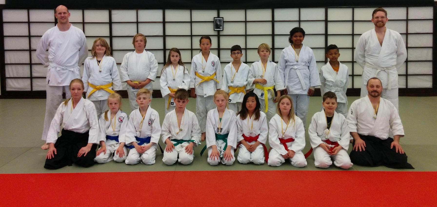 Gruppbild gradering VT2015