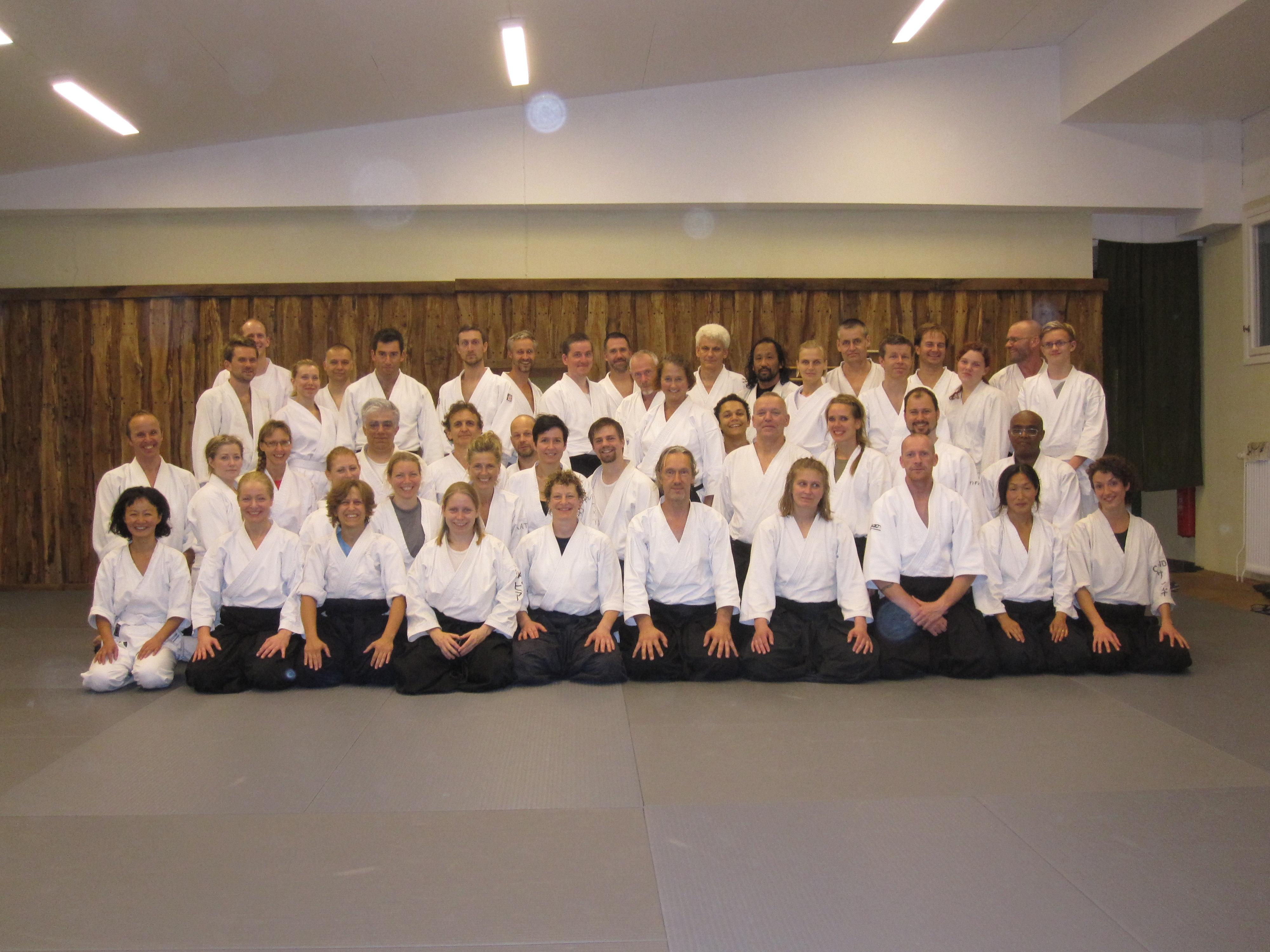 Gruppbild träningsläger